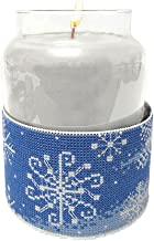 Janlynn Winter Snowflakes Candle Corsets Counted Cross Stitch