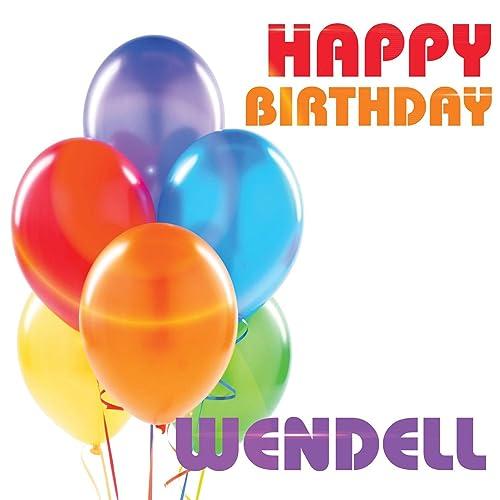 Happy Birthday Wendell By The Birthday Crew On Amazon
