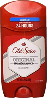 Old Spice High Endurance Original Scent Men's Deodorant, 2.25 Oz (Pack of 6)