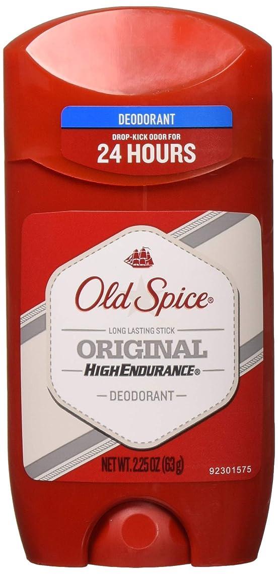 Old Spice 高耐久オリジナル香りメンズデオドラント、2.25オズ(6パック)
