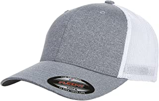 Men's Melange Stretch Mesh Cap