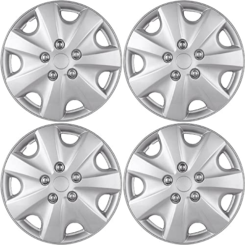 popular Hub-caps for online sale 96-97 Acura Integra (Pack of 4) Wheel Covers 14 popular inch Snap On Silver online