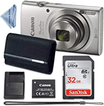 Canon PowerShot ELPH 180 Digital Camera (Silver) with...