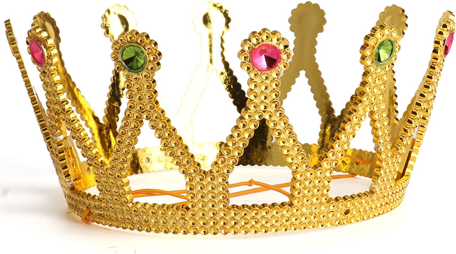 Gold Crown Royal Queen New item King Lowest price challenge Costume