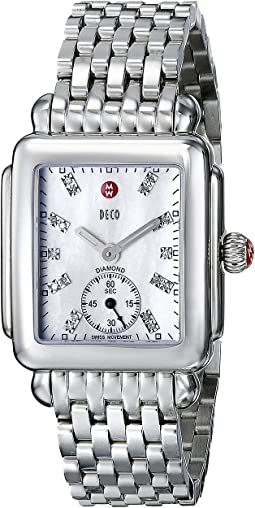 Michele Deco Mid Diamond Dial Watch