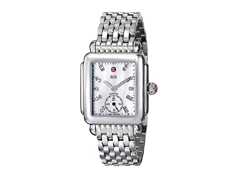 Michele Deco Mid Diamond Dial Watch