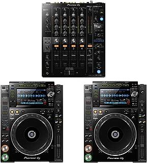 Pioneer DJM-750MK2 DJ Mixer w/ CDJ-2000NXS2 Multi Players (2)