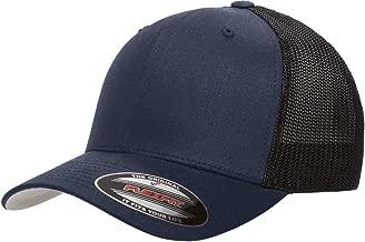 Flexfit 6511 Trucker Cap (Dark Navy, One Size)