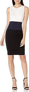 Three Dots Womens Ponte Mini Cocktail Dress
