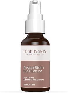 سرم سلول بنیادی Trophy Skin Argan برای ضد پیری ، چین و چروک ، زخم و آبرسانی به پوست در ناحیه صورت و گردن - 1 اونس