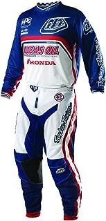 Troy Lee Designs TLD GP Air Team Gear Set White Navy Blue Medium Jersey / 28a Pants