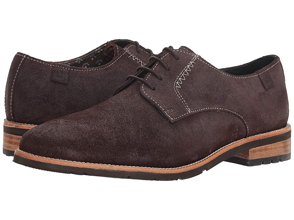 Ben Sherman Rugged Leather Oxford (Brown Suede) Men