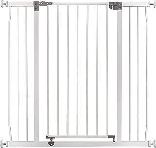 Dreambaby Barrera de Seguridad Liberty Extra-alta y Ancha (99-106 cm), blanca