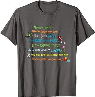 Best dr seuss t shirts women Reviews