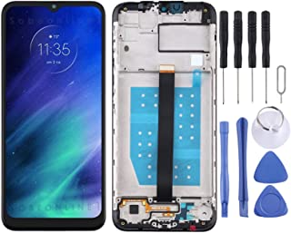 LCD Display Replacement Parts LCD Screen and Digitizer Full Assembly With Frame Compatible for Motorola One Fusion Mobile ...