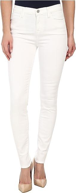 J Brand - Maria High Rise in Blanc