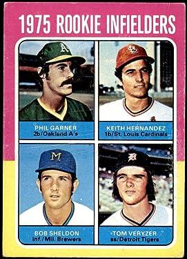 1975 Topps Regular (Baseball) card#623 Keith Hernandez - Phil Garner of the - Undefined - Grade Good