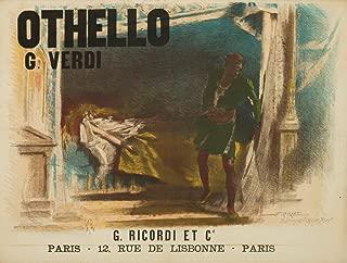 Othello Vintage Poster (artist: Bignami) France c. 1894 (12x18 Fine Art Print, Home Wall Decor Artwork Poster)