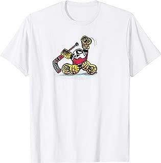 Small Saves Hockey Goalie GLOVE SAVE cartoon logo graphics T-Shirt