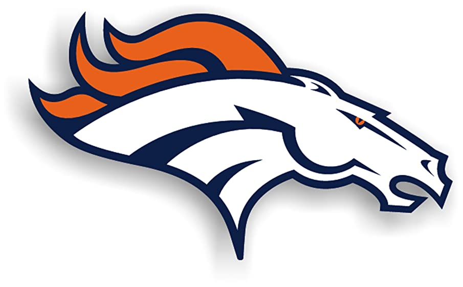 Fremont Die NFL Denver Broncos 12-Inch Vinyl Logo Magnet