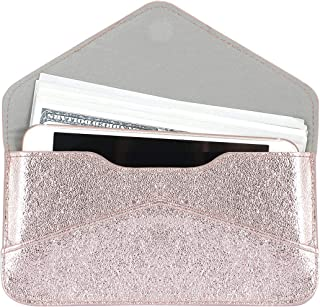 Women's Card Wallet Envelope Style Credit Card Holder Cute Cash Wallet for Ladies