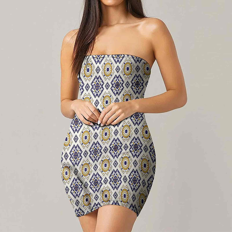 Women's Summer Strapless Dresses Unusual Shapes Dresses