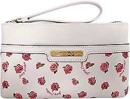 White/Ditsy Rose