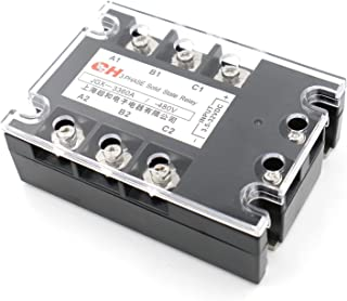 Rel/è statico solido rel/è trifase a stato solido Controllo CC CA 40DA BRM3-80DA 80DA Carico 24-480 V CA 60DA