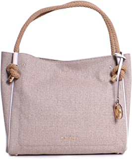 MICHAEL MICHAEL KORS Isla Large Textured Grab Bag, Hemp