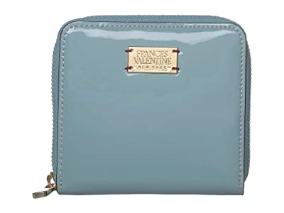Frances Valentine Roosevelt Small Wallet (Light Blue) Bi-fold Wallet