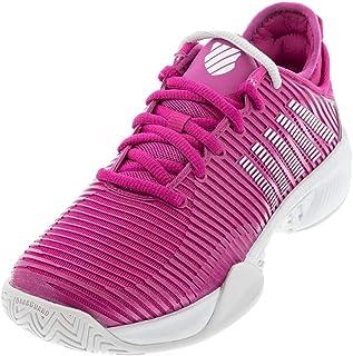 حذاء K-Swiss لكرة التنس Hypercourt Supreme للسيدات (زهرة الصبار / Nimbus Cloud/أبيض