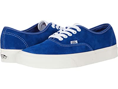 Vans Authentictm ((Pig Suede) Limoges/Snow White) Skate Shoes
