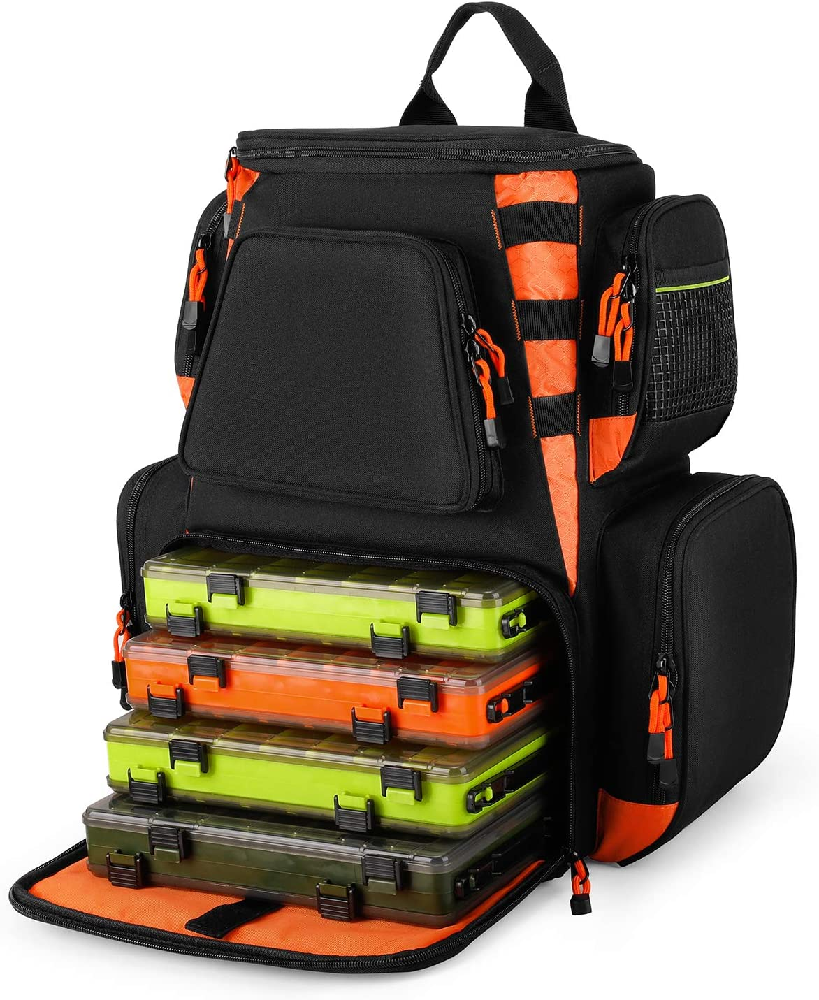 Magreel 25L Fishing Tackle Water-Resistant Backpack Max Cash special price 81% OFF w Bag
