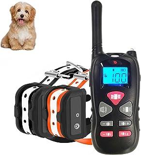 comprar comparacion Havenfly Collar de Adiestramiento para Perros sin Descarga Eléctrica, Collar de Entrenamiento para Perros con Función de V...