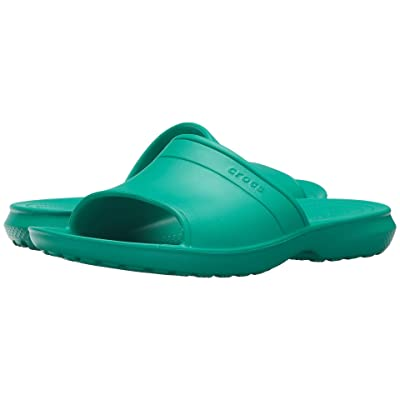 Crocs Classic Slide (Tropical Teal) Slide Shoes