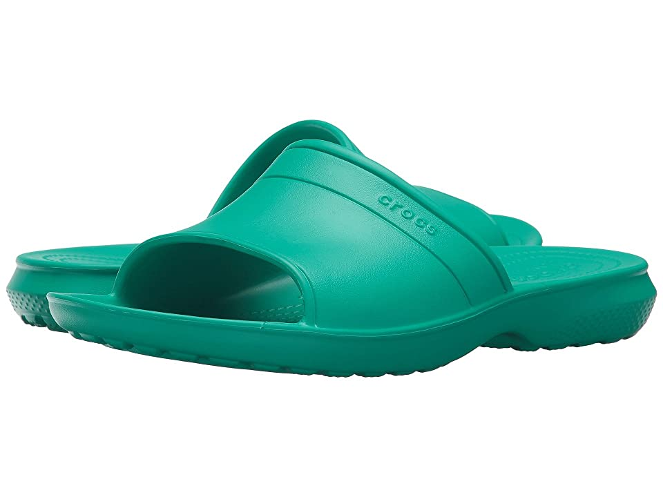 Crocs Classic Slide (Tropical Teal) Slide Shoes