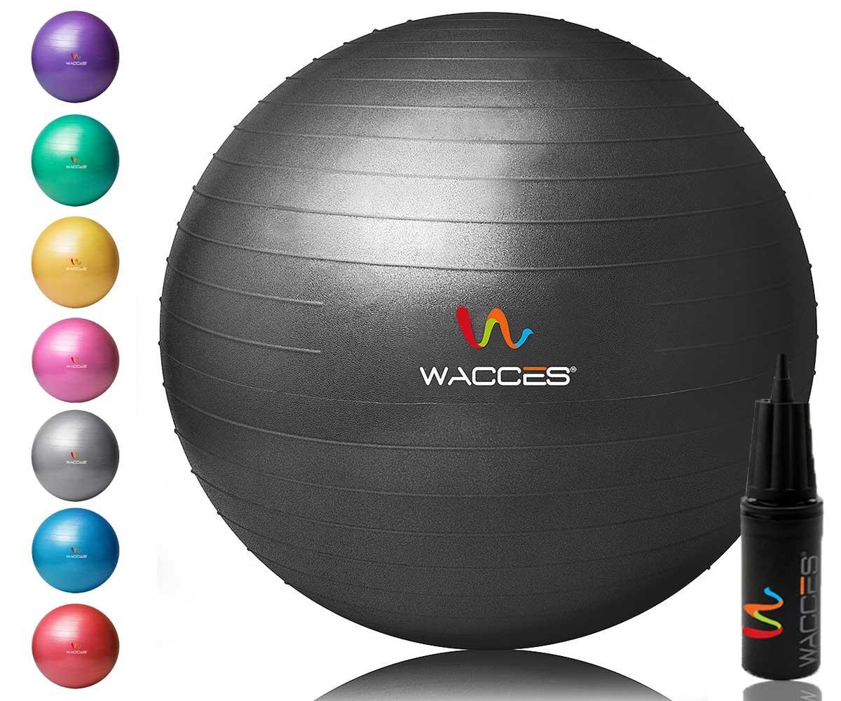 Wacces Yoga Ball Hand Black