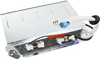 Spares2go elemento calefactor de 2500W + Termostatos para Grundig secadora