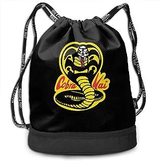 Mochila con cordón Cobra Kai Drawstring Backpack Rucksack Shoulder Bags Training Sack For Gym Sports