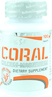 Biotech USA Coral Calcium. Magnesium Vitaminas y Minerales - 1000 gr