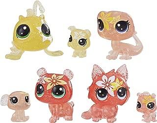 Littlest Pet Shop Petal Party Tiger Lily Collection, 7 Pets, Part of The Lps Petal Party Collection