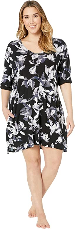 Plus Size Modal Sleepshirt