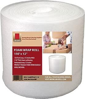 UBOXES Foam Wrap Roll - 12