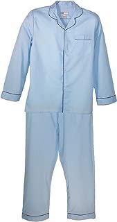 Ten West Apparel Long Sleeve Long Leg Solid Pajama Set
