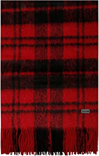 Luxury Fashion   Saint Laurent Mens 5806934YC896460 Red Scarf   Fall Winter 19