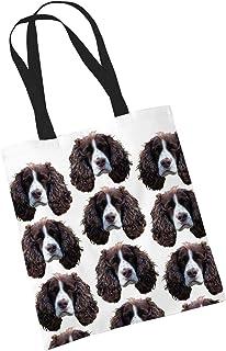 doggy tote bag shopping bag dog bag reusable bag dog lovers gift printed bag \u00a0\u00a0