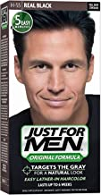 JUST FOR MEN Hair Color H-55 Real Black 1 Each (Pack of 5)