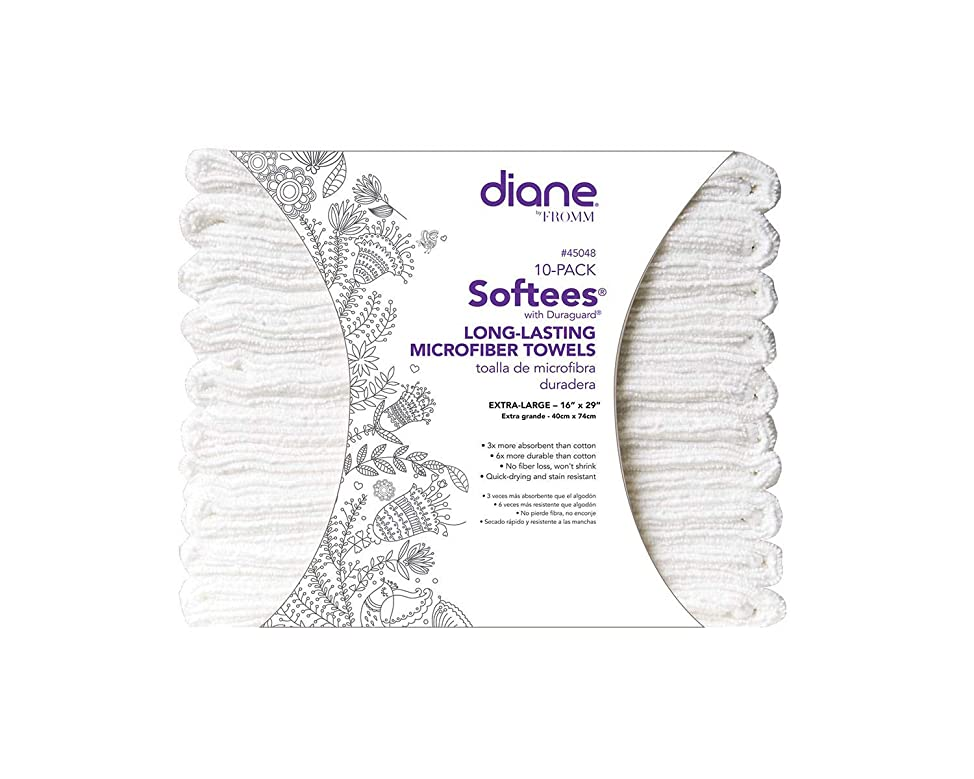 Fromm Diane Softees with Duraguard, White, 10 Count