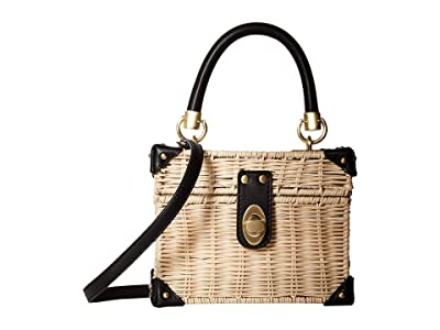 Sam Edelman Matilda Box Basket (Natural) Handbags