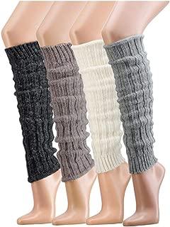 TippTexx 24 Kuschelige Beinwärmer wie SELBSTGESTRICKT mit Wolle Schaf und Alpaka, Stulpen, Legwarmers mit zusätzlicher Garantie